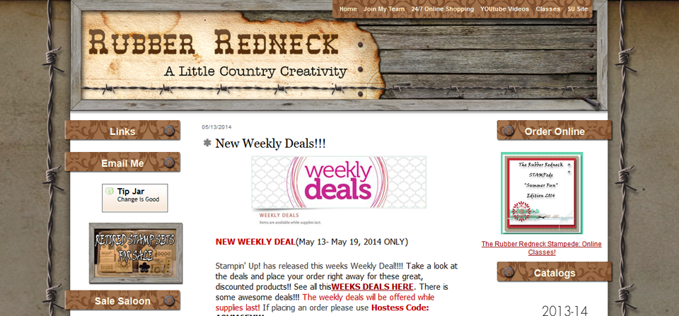 Rubber Redneck TypePad